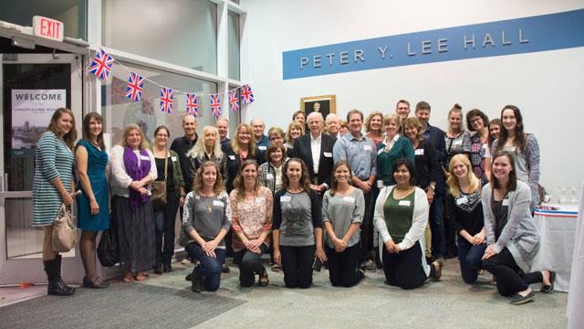 London Studies Program reunion, fall 2015